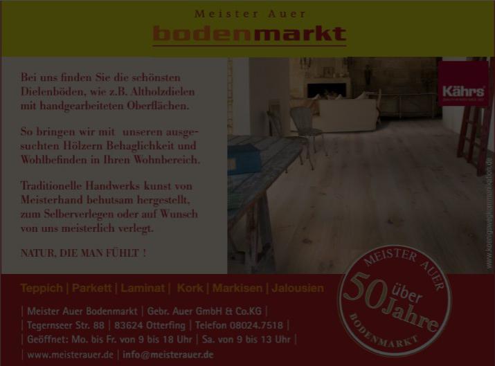 Meister Auer Bodenmarkt