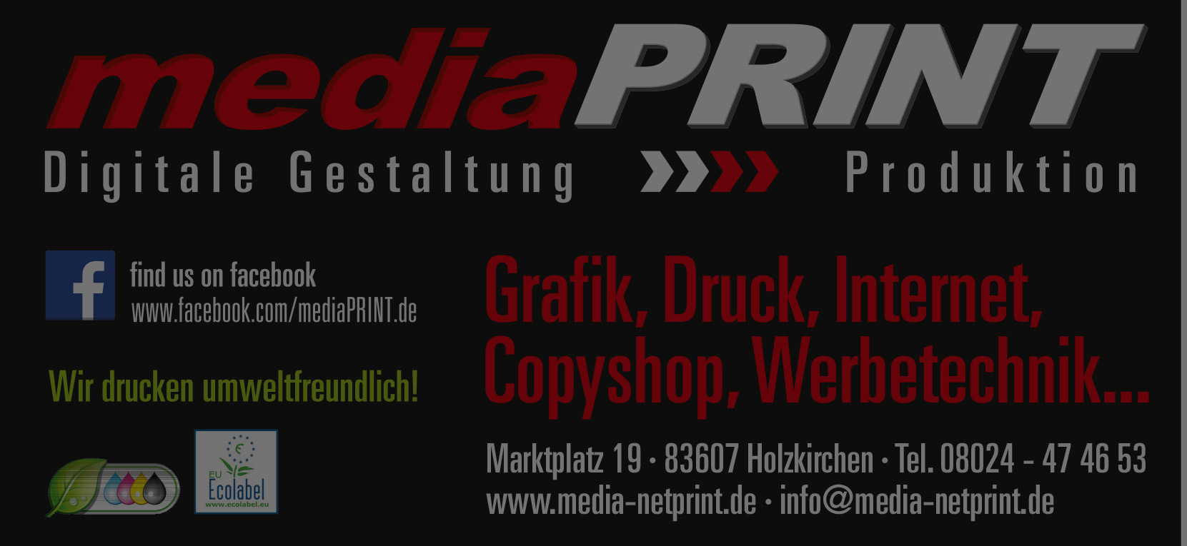 mediaPRINT Digitaldruck
